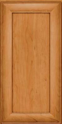 Square Recessed Panel - Veneer (AB5C) Cherry in Natural - Wall