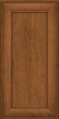 Square Recessed Panel - Veneer (AB5C) Cherry in Rye - Wall