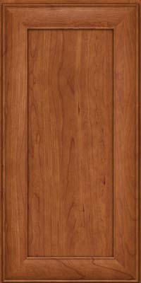 Square Recessed Panel - Veneer (AB5C) Cherry in Sunset - Wall