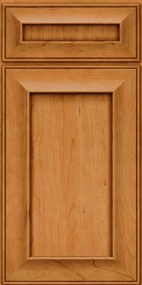 Square Recessed Panel - Solid (AB6C) Cherry in Natural - Base
