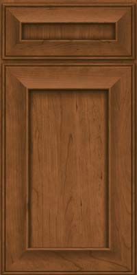 Square Recessed Panel - Solid (AB6C) Cherry in Rye - Base