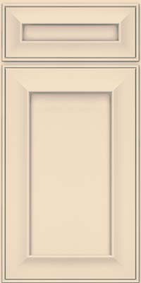 Square Recessed Panel - Solid (AB6M) Maple in Biscotti w/ Cinder Glaze - Base