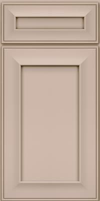 Square Recessed Panel - Solid (AB6M1) Maple in Chai - Base