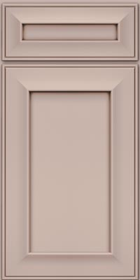 Square Recessed Panel - Solid (AB6M1) Maple in Chai w/Cocoa Glaze - Base