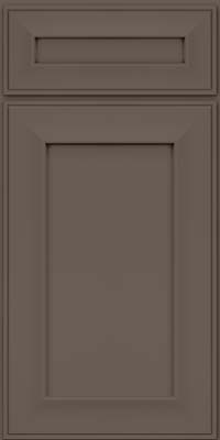 Square Recessed Panel - Solid (AB6M) Maple in Greyloft - Base