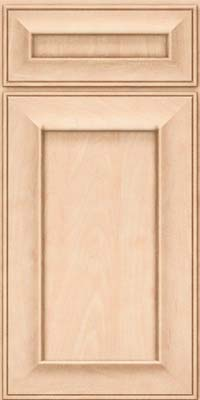 Square Recessed Panel - Solid (AB6M) Maple in Parchment - Base