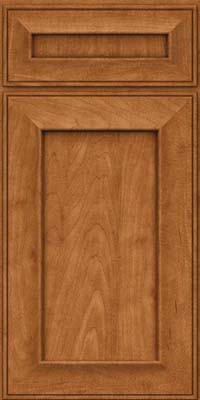Square Recessed Panel - Solid (AB6M) Maple in Praline - Base