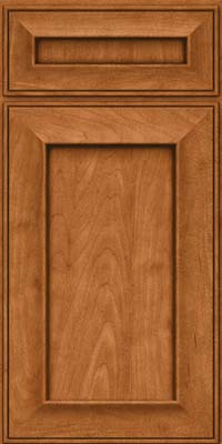 Square Recessed Panel - Solid (AB6M) Maple in Praline w/Mocha Highlight - Base