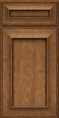 Square Recessed Panel - Solid (AB6M) Maple in Rye - Base