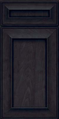 Square Recessed Panel - Solid (AB6M) Maple in Slate - Base
