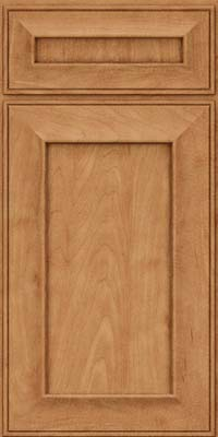 Square Recessed Panel - Solid (AB6M) Maple in Toffee - Base