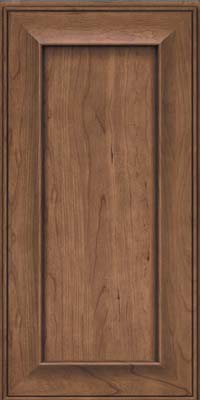 Square Recessed Panel - Solid (AB6C) Cherry in Husk - Wall