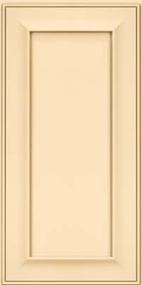 Square Recessed Panel - Solid (AB6M) Maple in Biscotti - Wall