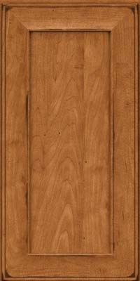 Square Recessed Panel - Solid (AB6M) Maple in Burnished Praline - Wall