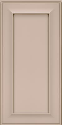 Square Recessed Panel - Solid (AB6M1) Maple in Chai - Wall