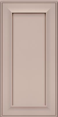 Square Recessed Panel - Solid (AB6M1) Maple in Chai w/Cocoa Glaze - Wall