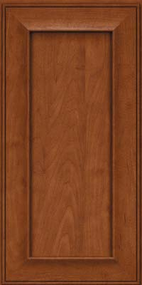 Square Recessed Panel - Solid (AB6M) Maple in Chestnut - Wall