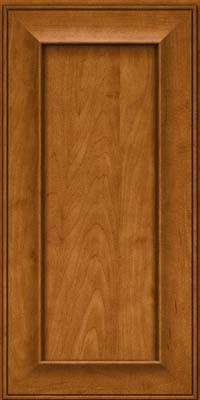 Square Recessed Panel - Solid (AB6M) Maple in Golden Lager - Wall