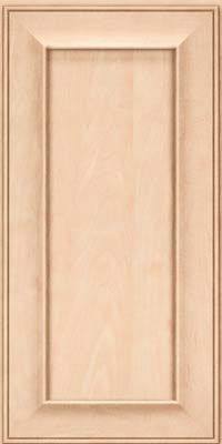 Square Recessed Panel - Solid (AB6M) Maple in Parchment - Wall
