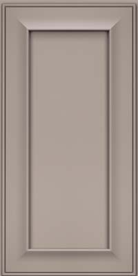 Square Recessed Panel - Solid (AB6M) Maple in Pebble Grey - Wall