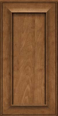 Square Recessed Panel - Solid (AB6M) Maple in Rye - Wall