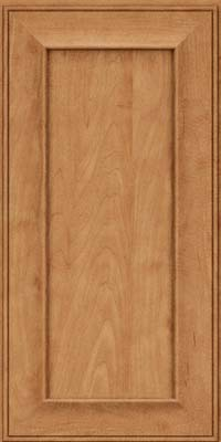 Square Recessed Panel - Solid (AB6M) Maple in Toffee - Wall