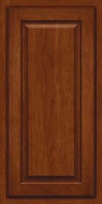 Square Raised Panel - Veneer (AB7C) Cherry in Autumn Blush - Wall