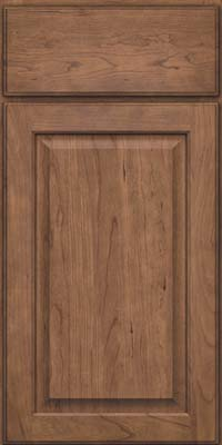 Square Raised Panel - Veneer (AB9C) Cherry in Husk - Base