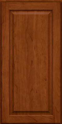 Square Raised Panel - Veneer (AB9C) Cherry in Cinnamon - Wall