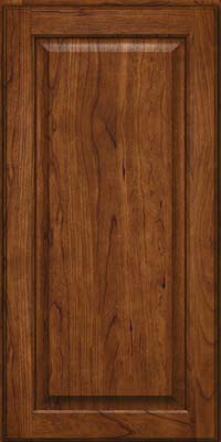 Square Raised Panel - Veneer (AB9C) Cherry in Cognac - Wall