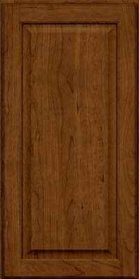 Square Raised Panel - Veneer (AB9C) Cherry in Ginger w/Sable Glaze - Wall