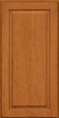 Square Raised Panel - Veneer (AB9C) Cherry in Honey Spice - Wall