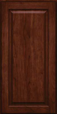 Square Raised Panel - Veneer (AB9C) Cherry in Kaffe - Wall