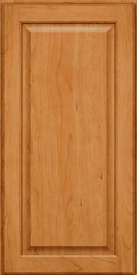 Square Raised Panel - Veneer (AB9C) Cherry in Natural - Wall