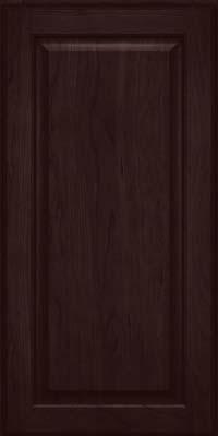 Square Raised Panel - Veneer (AB9C) Cherry in Peppercorn - Wall