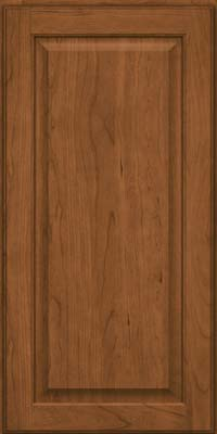 Square Raised Panel - Veneer (AB9C) Cherry in Rye - Wall