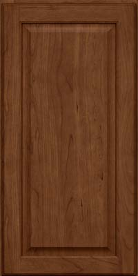Square Raised Panel - Veneer (AB9C) Cherry in Rye w/Sable Glaze - Wall