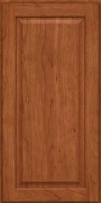 Square Raised Panel - Veneer (AB9C) Cherry in Sunset - Wall