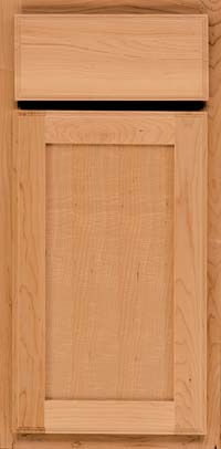 Square Recessed Panel - Veneer (AC4M) Maple in Honey Spice - Base