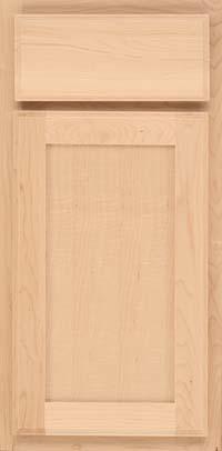 Square Recessed Panel - Veneer (AC4M) Maple in Natural - Base