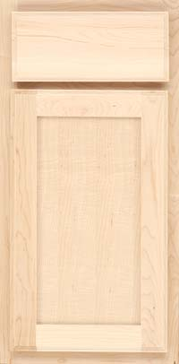 Square Recessed Panel - Veneer (AC4M) Maple in Parchment - Base