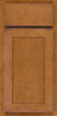 Square Recessed Panel - Veneer (AC4M) Maple in Praline - Base