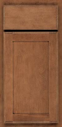 Square Recessed Panel - Veneer (AC4M) Maple in Rye - Base
