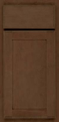 Square Recessed Panel - Veneer (AC4M) Maple in Saddle - Base
