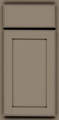 Square Recessed Panel - Veneer (AC4M) Maple in Sage - Base