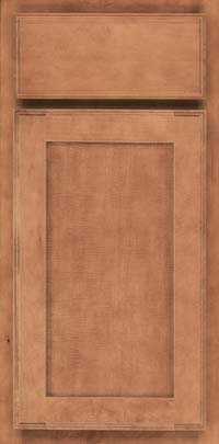 Square Recessed Panel - Veneer (AC4M) Maple in Toffee - Base