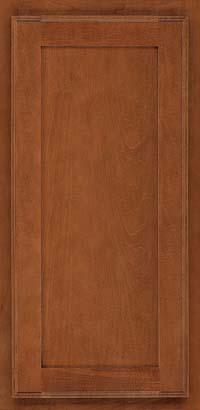 Square Recessed Panel - Veneer (AC4M) Maple in Chestnut - Wall