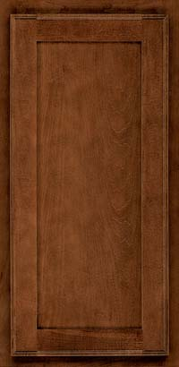 Square Recessed Panel - Veneer (AC4M) Maple in Cognac - Wall