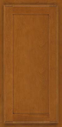 Square Recessed Panel - Veneer (AC4M) Maple in Golden Lager - Wall
