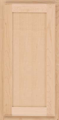 Square Recessed Panel - Veneer (AC4M) Maple in Natural - Wall